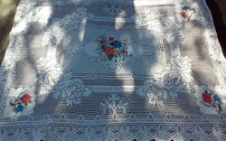 Szecessziós asztalterítő 155×130 !