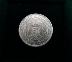 Gyönyörű ezüst 2 Pengő 1938.