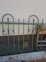 Kovácsolt vas kerítés 11m hosszú