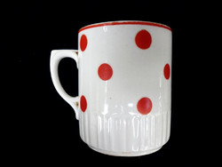 Zsolnay antik pöttyös csésze