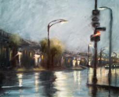 Esti városi fények // Evening city lights