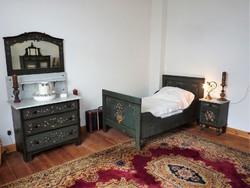 Eredeti kézzelfestett antik paraszthálószoba 1880-1900 között készitettl