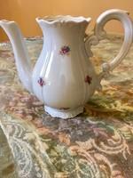 Barokk Zsolnay kávés kanna