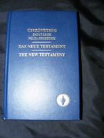 3 nyelvű ÚJSZÖVETSÉG zsoltárok példapeszédek