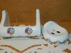 Royal Bavaria KPM porcelán fürdőszobai kiegészitők.