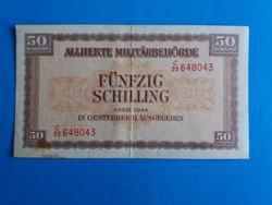 Ausztria, 50 schilling 1944.