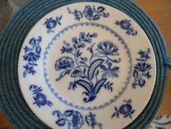 Régi Schlaggenwaldi porcelán tányér