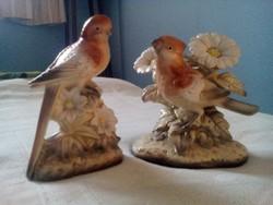 Vintage Foreign porcelán madarak (párban)