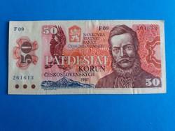 Csehszlovákia, 50 Korona .