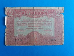 Kecskemét, 2 korona 1919.