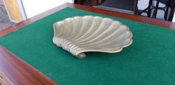 Réz kagyló asztalközép kináló