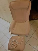 TERMO melegítő RELAX  fotel , szék  lábtartóval