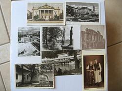 Régi képeslapok Erdélyből 8 db 1940-es évekből