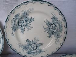 Porcelán - 1920 - 1934 -ig gyártott - MÉLY !! - tányér- jelzett -  Norvég  22 cm porcelán - hibátlan