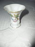 HERENDI kis porcelánváza