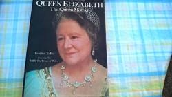 Queen Elizabeth angol nyelvű könyv