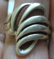 925 ezüst gyűrű, 18,8/59 mm