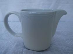 Porcelán - JELZETT -  NAGY - Osztrák tejkiöntő 4 dl  15 x 10 x 7 cm. Tökéletes állopot.