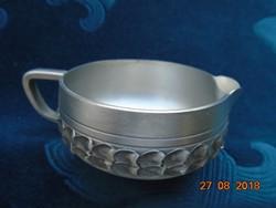 Újszerű  93% Ón (Norway Perletinn) stílusos,kávés készlet dobozában az Oslo Metal cégtől