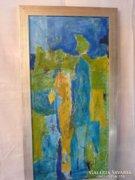 Eredeti Piszkátor Ildikó absztrakt festmény