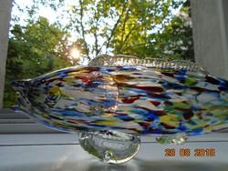 Kézzel készült sokszínű Üveg hal