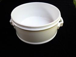 Antik porcelán éthordó tál