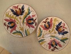 Városlődi  fali  lapos tányérok    ,egyenként is eladó