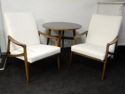 Retro fotelek,garnitúra,asztallal