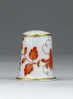 0S093 Hollóházi porcelán gyűszű SC/B