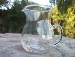 Füles Tejkiöntő,kávékiöntő üveg