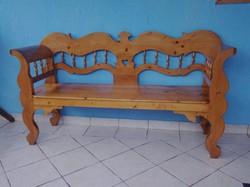 FENYŐ DIEDER PARASZT  PAD (pine bench )