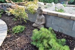 Keleti Buddha szobor, valódi kő!!!