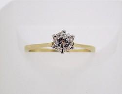 Köves arany gyűrű (ZAL-Au38052)