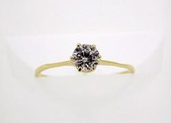 Arany köves gyűrű (ZAL-Au58364)