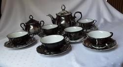Bavaria ezüstözött teáskészlet  /  1882