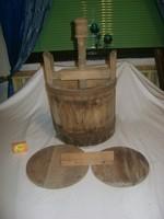 Régi prés fából