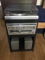 Philips F7112 lemezjátszó szett + állvány