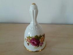 Porcelán Cottage Rose csengő