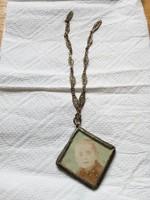 Ezüst miniatűr medál 100 éves