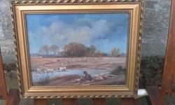 Iván Károly : pusztán festménye!
