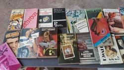 Könyvcsomag eladó! 40 db könyv elsősorban krimi egyben eladó!