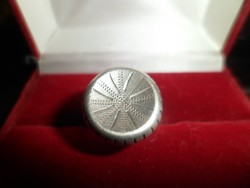Antik osztrák ezüst gyűrű