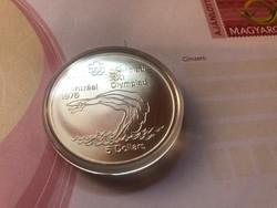 1976 ezüst Kanada 5 dollár 24,3 gramm 0,925