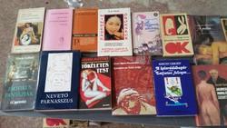 Könyvcsomag eladó! 13 db könyvből álló csomag.