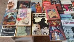 Krimi könyvcsomag eladó! 50 db könyv egyben eladó!