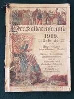 Világháborús 1919 német katonai kalendárium