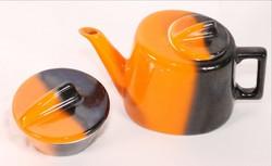 Art deco porcelán kávés vagy  teáskanna és cukortartó