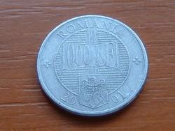 ROMÁNIA 1000 LEI 2001