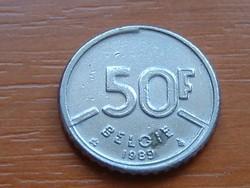 BELGIUM BELGIE 50 FRANK 1989