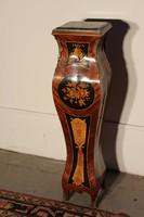 Intarziás antik boulle posztamens,szobortartó !